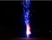 Toschpyro Effektfontäne Blau