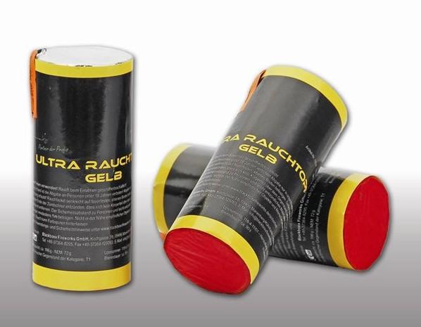 Blackboxx Ultra Rauchtopf Gelb